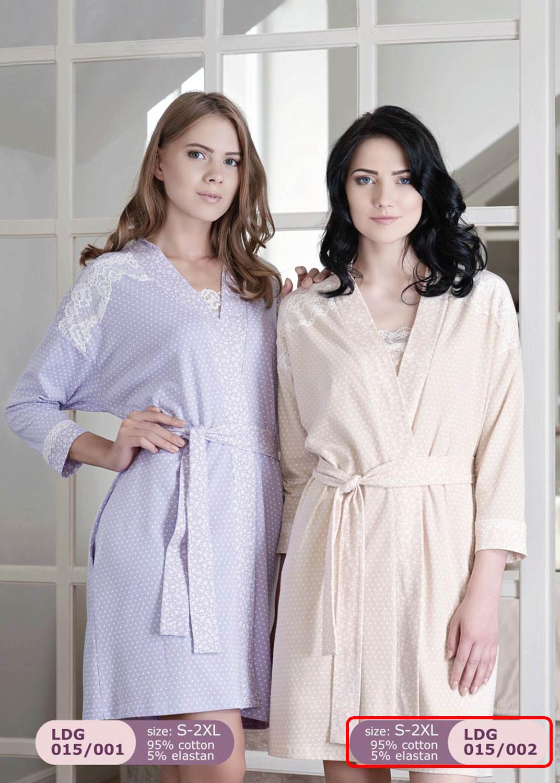 Домашняя одежда женский халат ldg 015/002