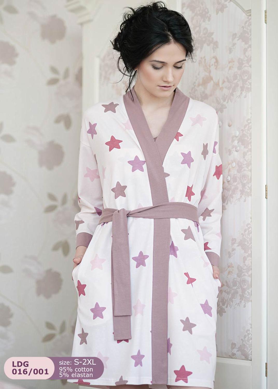 Домашняя одежда женский халат ldg 016/001