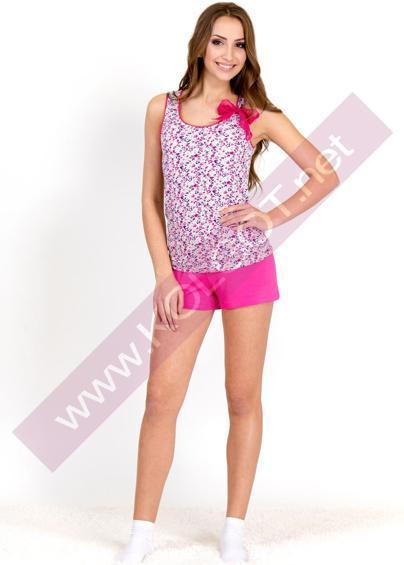 Домашняя одежда Домашний комплект майка + шорты Bright Bow 01312 <span style='color:#ff0000;'>Распродано</span>- купить в Украине в магазине kolgot.net (фото 1)