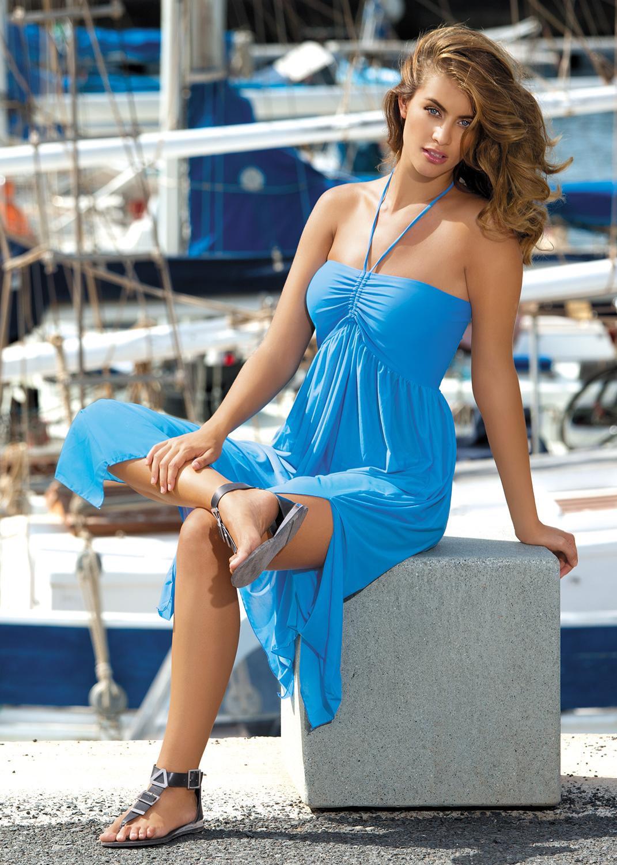 Пляжная одежда пляжное платье sukienka f43 вид 4