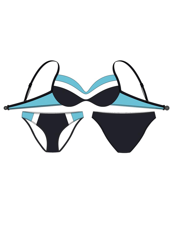 Раздельные купальники раздельный купальник 94017-1 вид 4
