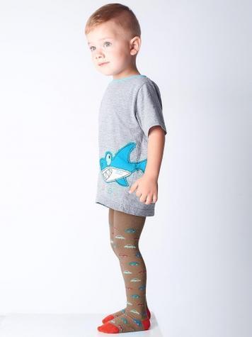 Детские хлопковые колготки TM GIULIA D017 LITTLE KIDS