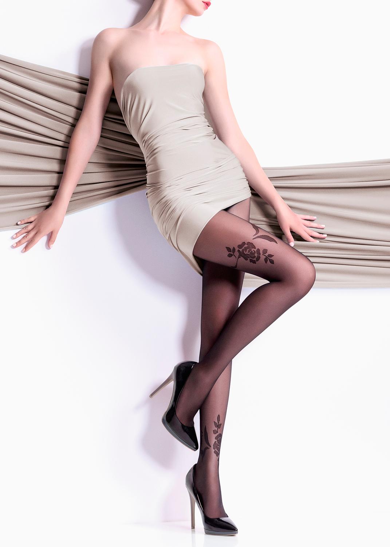Колготки с рисунком Malena 20 model 1