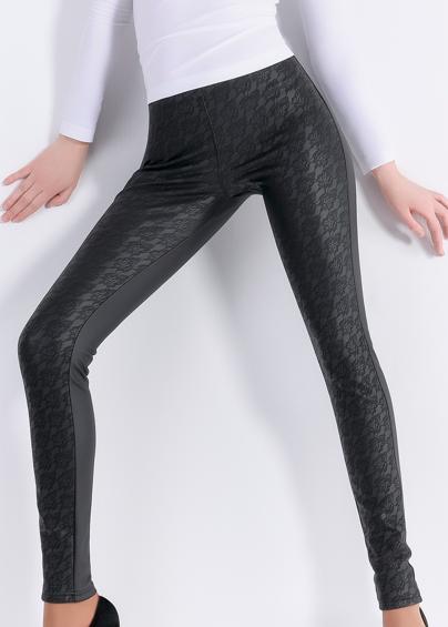 Леггинсы женские LEGGY SHINE  model 4- купить в Украине в магазине kolgot.net (фото 1)
