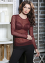 Домашняя одежда 6291-4 джемпер женский сетка с круглым вырезом Anabel Arto - купить в Украине в магазине kolgot.net (фото 1)