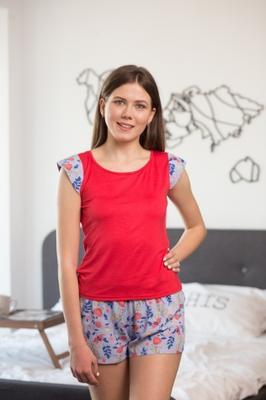 Комплект (футболка с шортами) для домашнего отдыха ТМ GIULIA ASHLEY 6002/030