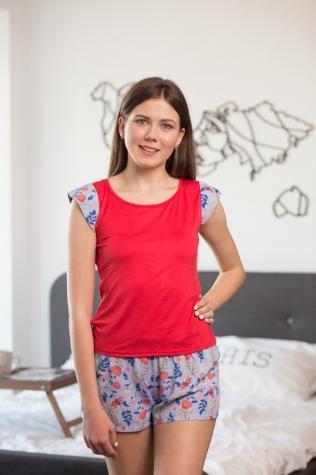 Комплект (футболка з шортами) для домашнього відпочинку ТМ GIULIA ASHLEY 6002/030