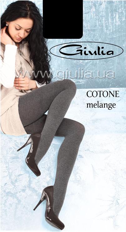 Теплые колготки COTTONE MELANGE 180 <span style='text-decoration: none; color:#ff0000;'>Распродано</span>- купить в Украине в магазине kolgot.net (фото 1)