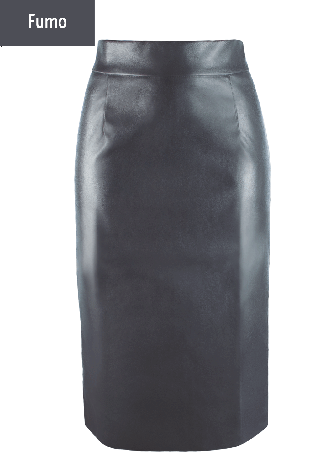Юбки Pencil skirt leather model 1 вид 7