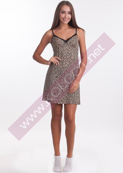 Домашняя одежда Домашнее платье Tiger Shirt 01601- купить в Украине в магазине kolgot.net (фото 1)