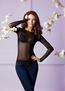 Домашняя одежда 6291-4 джемпер женский сетка с круглым вырезом Anabel Arto - купить в Украине в магазине kolgot.net (фото 2)