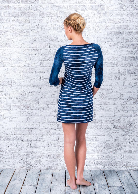 Домашняя одежда платье td-5501 вид 4
