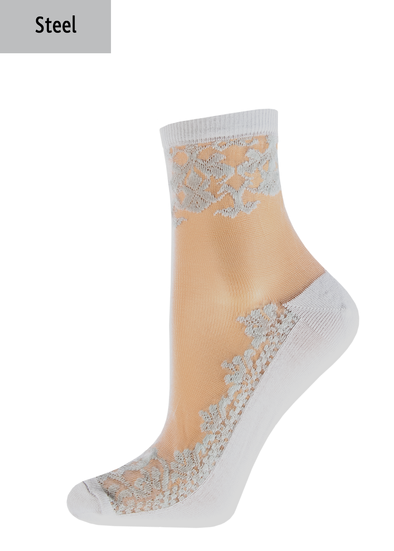 Носки женские носки wsm-005 вид 3