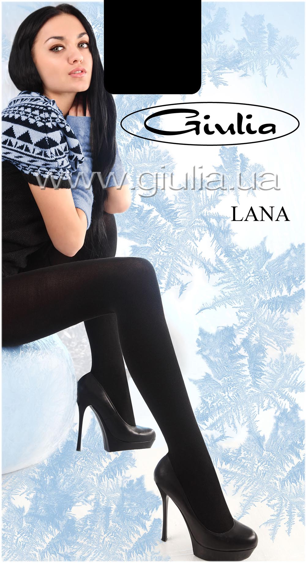 Теплые колготки LANA 150