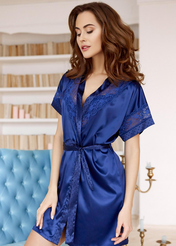Домашняя одежда комплект халат + платье-сорочка