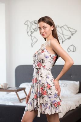 Платье для домашнего отдыха ТМ GIULIA LETUAL 8004/030