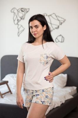 Комплект (футболка с шортами) для домашнего отдыха ТМ GIULIA IRIS 6109/010
