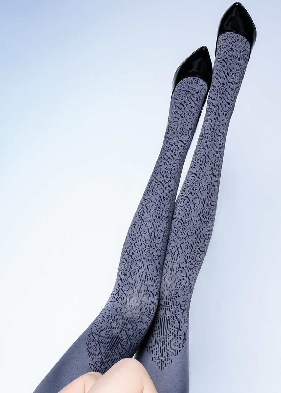 Колготки с рисунком Elmira 100 model 1