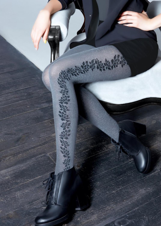Теплые колготки Naomi melange 150 model 2