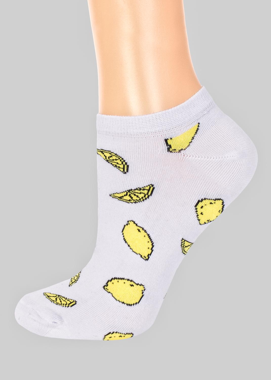 Носки женские носки с лимонами cs-19