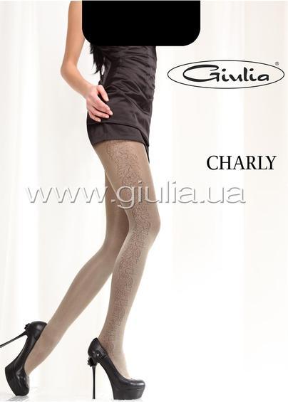 Колготки с рисунком CHARLY 40 model 3 <span style='text-decoration: none; color:#ff0000;'>Распродано</span>- купить в Украине в магазине kolgot.net (фото 1)
