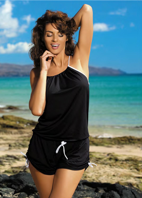 Пляжная одежда пляжный ромпер с1368 m312 leila вид 2