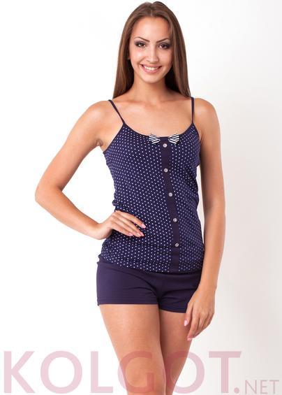 Одежда для дома и отдыха Домашний комплект майка+шорты Peas 02407 <span style='color:#ff0000;'>Распродано</span>- купить в Украине в магазине kolgot.net (фото 1)