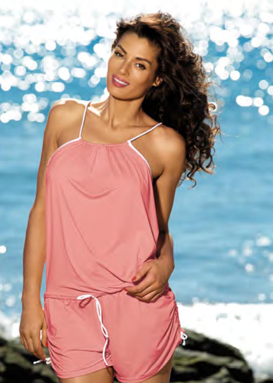 Пляжная одежда пляжный ромпер с1368 m312 leila
