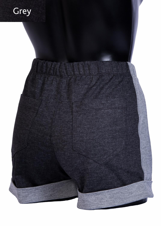 Шорты женские Shorts mini stripe model 3 вид 1