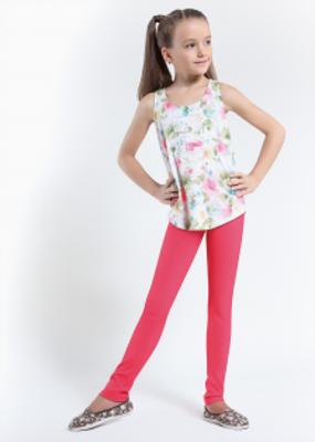 Детские леггинсы в нежных расцветках ТМ GIULIA TONE TEEN GIRL