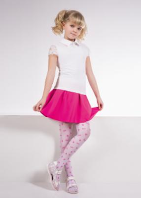 детские колготки с модным принтом TM GIULIA COOL 20