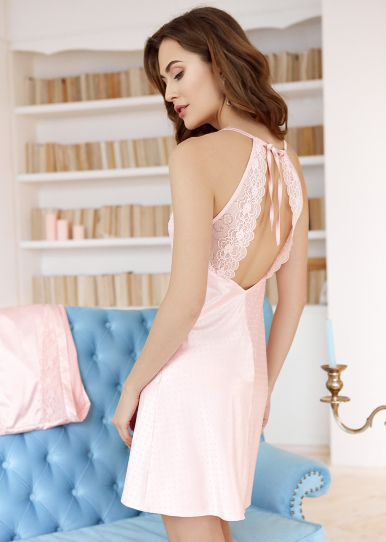 Домашняя одежда комплект халат + платье-сорочка вид 4