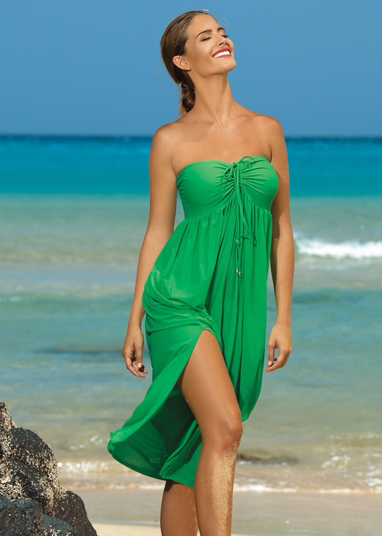 Пляжная одежда пляжное платье sukienka f43 вид 3