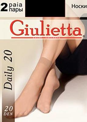 Классические носки из микрофибры TM GIULIETTA DAILY 20