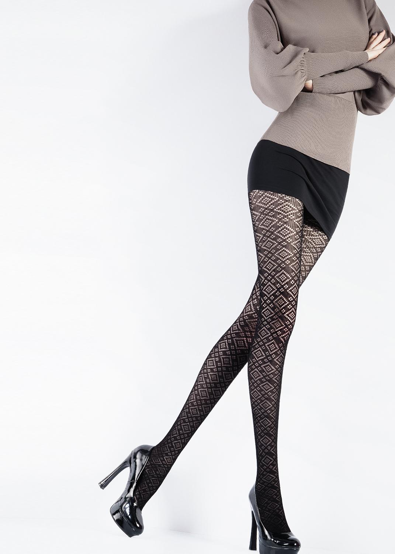 Колготки с рисунком Vogue 120 model 2