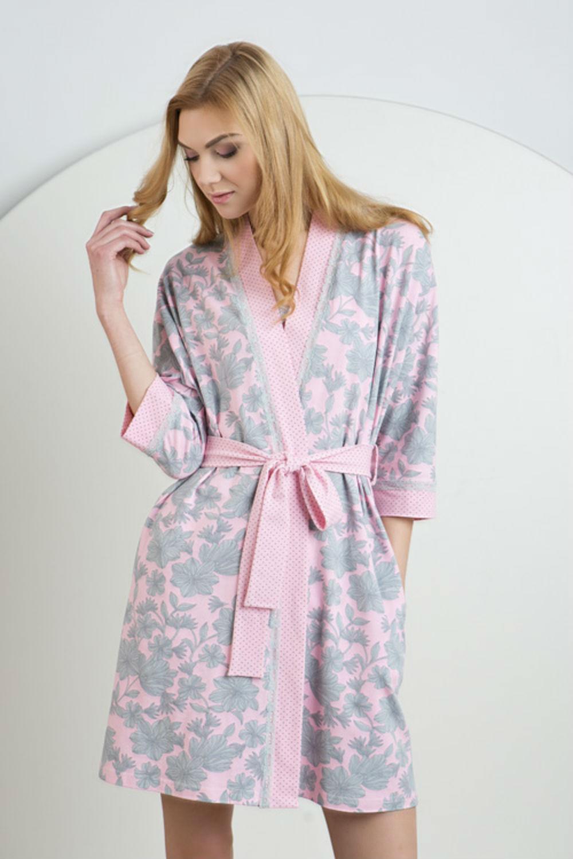Домашняя одежда женский халат ldg 026/002