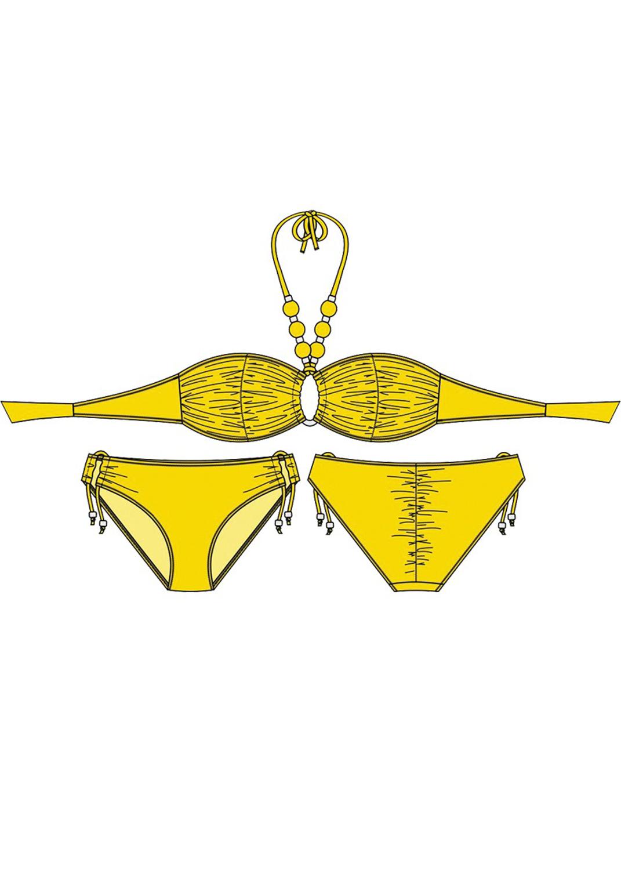 Раздельные купальники купальник раздельный 93044 вид 8