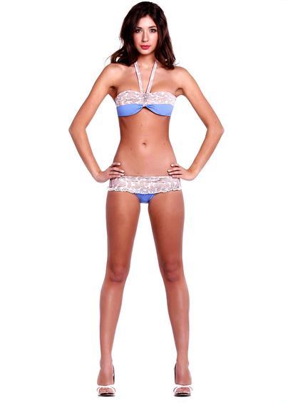 Раздельные купальники Модель бандо k14- купить в Украине в магазине kolgot.net (фото 1)