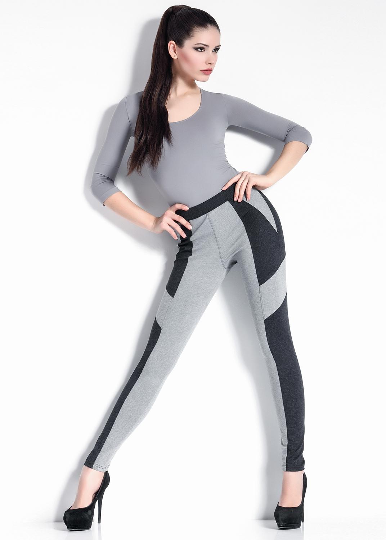 Леггинсы женские Leggy melang model 1