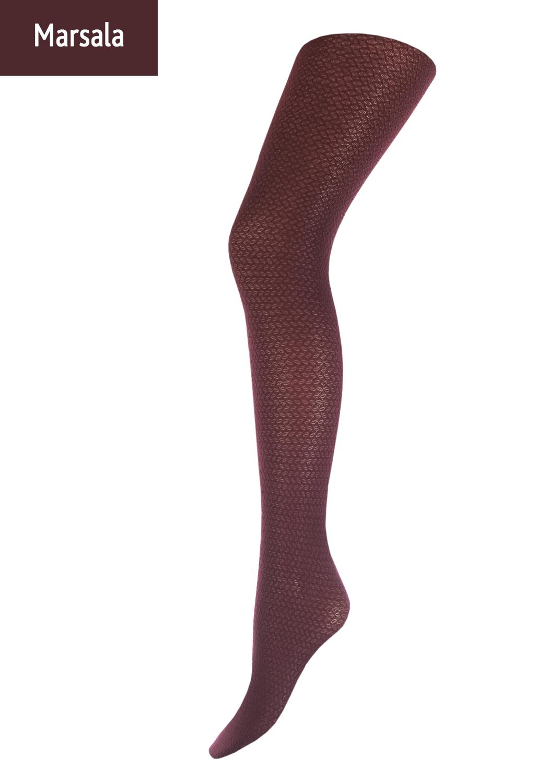 Колготки с рисунком Solana 80 model 2 вид 5