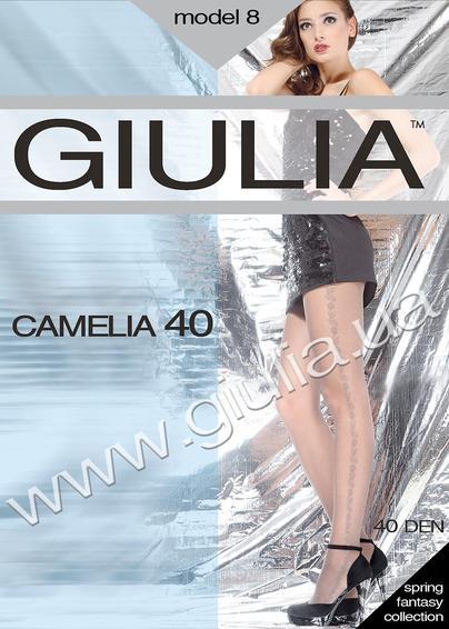 Колготки с рисунком CAMELIA 40 model 8 <span style='text-decoration: none; color:#ff0000;'>Распродано</span>- купить в Украине в магазине kolgot.net (фото 1)