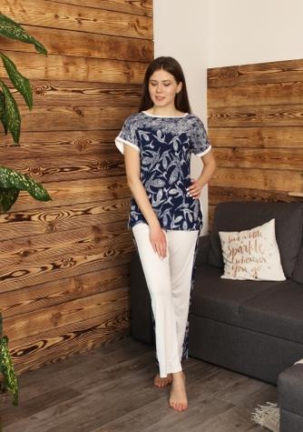 Комплект (футболка з штанами) для домашнього відпочинку ТМ GIULIA INGRID 5107/030