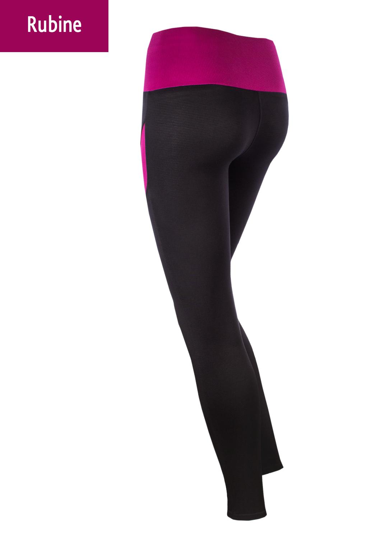 Леггинсы женские Leggings sport color вид 2