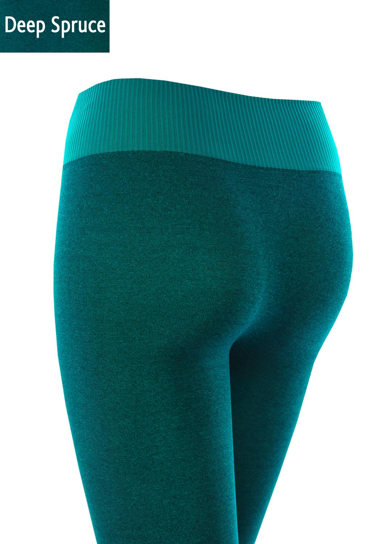 Леггинсы женские Leggings sport melange color вид 6