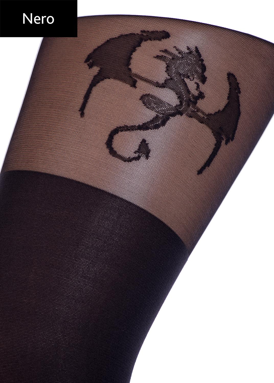 Колготки с рисунком Pari tatoo 60 model 1 вид 3