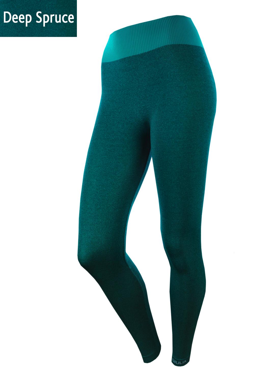 Леггинсы женские Leggings sport melange color вид 5