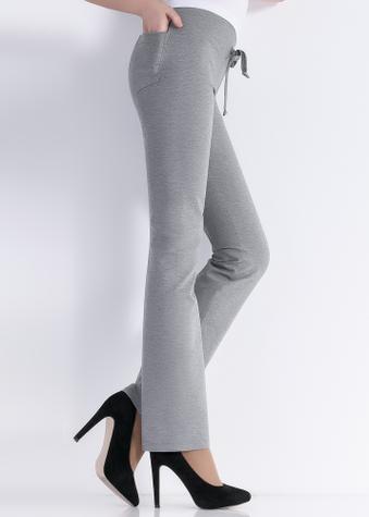Брюки прямого кроя с карманами ТМ GIULIA LEGGY MELANGE model 2
