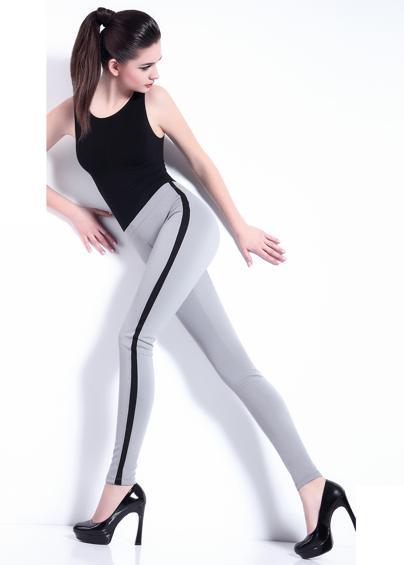 Леггинсы женские LEGGY STRIPE model 1 - купить в Украине в магазине kolgot.net (фото 1)