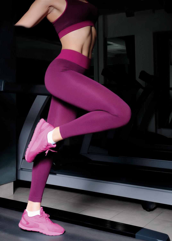Леггинсы женские Leggings sport melange color