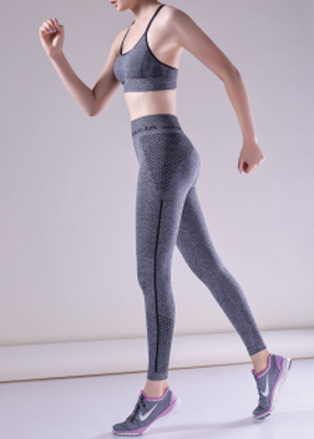 LEGGINGS SPORT MELANGE